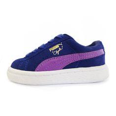 26305b2fb0bf3e  PUMA  Clyde  baby  blue  purple  classic  kids  sneakers