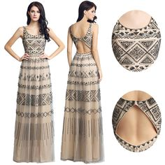 Paris Fashion Week Haute Couture Inspired Real Luxury Designer Full Length Evening Dresses Beaded Prom Gowns Special Occasion Celebrity Wear