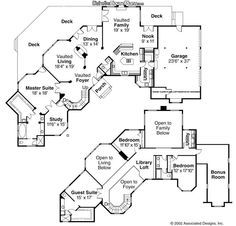 Floor Plan Friday 4 bedroom study home theatre scullery and