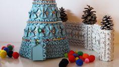 DIY Mini Pasta Christmas Tree