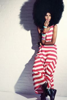 AFRO ME BABY !!! UBAH HASSAN FOR DELUXX DIGITAL MARCH 2012
