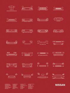 Auto Icon Screen Print Series: Toyota by nomodesignshop on Etsy Toyota Land Cruiser, 240z Datsun, Best Classic Cars, Ae86, Nissan Skyline, Skyline Gt, Koenigsegg, Japanese Cars, Car Car