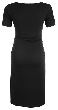 947607f1e8339 Maternity Styles - dressy maternity dresses   RNXRBB Women Short Sleeve  Maternity Dress Summer Pregnancy Clothes Ruched Side Dresses Scoop Neck --  Visit the ...
