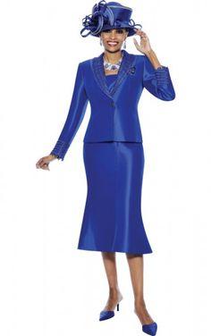 Terramina Church Suit Royal, White 7324 Easter Sunday suit