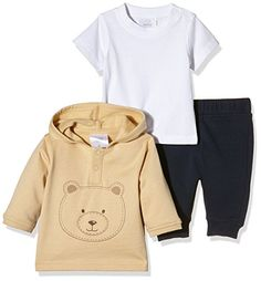Overall, Hoodies, Sweatshirts, Twins, Beige, Sweaters, Natural, Fashion, Baby Boys