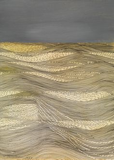 Against the Wind, 1980, mixed media on card Wilhelmina Barns Graham