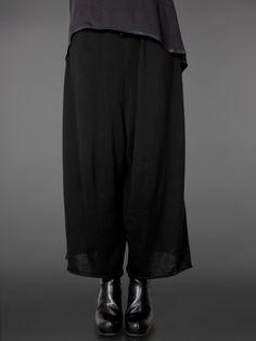 Serienumerica trousers