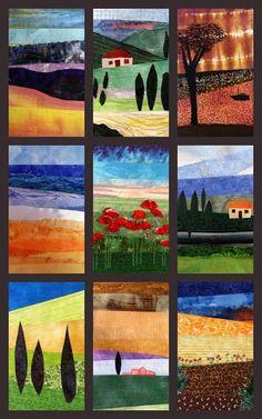 landscape quilts. Deborah OHare                                                                                                                                                                                 More