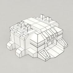 max factory sci fi building