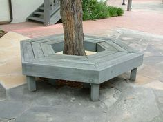 Garden Bench Around Tree.Landscaping Around Trees Ideas You Should Not Miss! Small Tree Bench Wooden Bench To Go Round A Tree Round . Home and Family Tree Seat, Tree Bench, Bench Around Trees, Landscaping Around Deck, Landscaping Work, Trunk Furniture, Outdoor Seating, Outdoor Decor, Outdoor Ideas