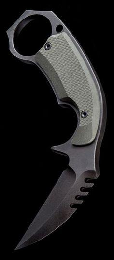 Medford Knife & Tool G-10 D2 Tool Steel Fixed Blade Karambit Combat Knife 51DP08KC @aegisgears #tacticalknife