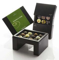 innovative chocolate packaging design - special and probably stupid expensive!
