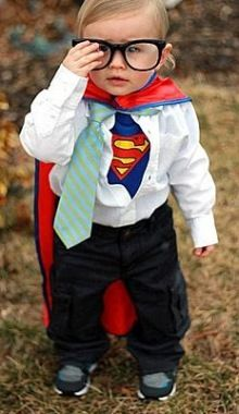 cute kids superman and clark kent costume idea miss banana pants 50 diy halloween