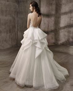 Ariana with overskirt - Brides Selection