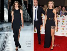 Abbey Clancy attended the Pride of Britain Awards held at The Grosvenor House Hotel on Monday (October in London, England. While not always a fan of Abb Celebrity Red Carpet, Celebrity Style, Britain's Next Top Model, Pride Of Britain, Abbey Clancy, Versus Versace, The Girlfriends, Red Carpet Looks, Runway Models