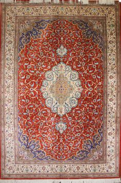 Real Persian Qum Silk Rug 3x2m - £25,000 - http://www.little-persia.com/?action=view_rug&cnt=0&id=1962