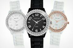 Watches with SWAROVSKI ELEMENTS £14.99 from Groupon