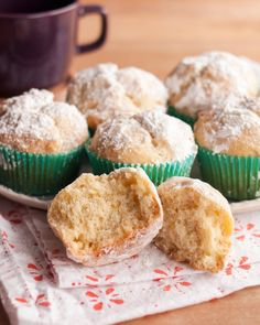 Holiday Recipe: Eggnog Doughnut Muffins Recipes from The Kitchn. I've never heard of this, but it's worth a try!
