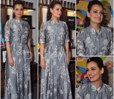 Dia Mirza is a boho chic cutie and in this floor length maxi from Myoho we just cant take our eyes off her. Get it Now at https://www.estrolo.com/inspirationapp/dia-boho-cutie/