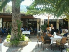 Campo Sol. Amazing food, wine and ambiance. Port de Soller, Majorca. July 2014