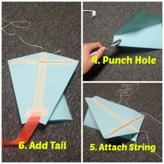 Hands-On Wednesday Science - build a kite Stem Projects, School Projects, School Ideas, Crafts For Boys, Fun Crafts, Fun Learning, Learning Activities, Kite Building, Grade 3 Science