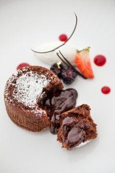Chipotle Molten Chocolate Cake