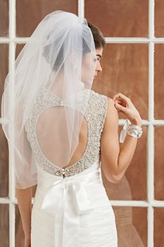 Wedding veil Bridal Veil Bubble Veil in by FascinatingCreations, $89.95