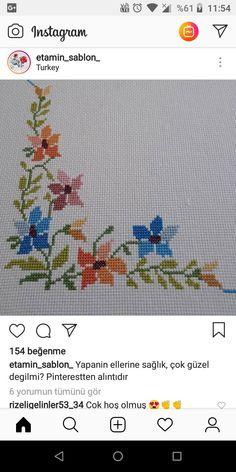 Cross Stitch Boarders, Cross Stitch Designs, Cross Stitching, Cross Stitch Embroidery, Hand Embroidery, Cross Stitch Patterns, Beginner Quilt Patterns, Quilting For Beginners, Loom Patterns