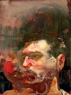 Adrián Ghenie. Autorretrato.