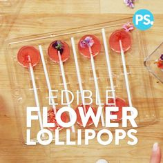 Channel Spring while getting your sweet fix with these precious edible flower lollipops. Perfect for weddings, bridal showers, and parties or as a thoughtful gift, they're also surprisingly simple to make.
