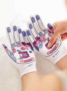 """Mapa+de+Reflexología+en+manos.+Gráfico+de+las+áreas+a+masajear+en+un+tratamiento+de+reflexología+para+las+manos.+Puntos+de+reflexolgia+de+manos"""""""