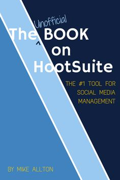 "Looking for some weekend reading? The Unofficial Book On HootSuite  ""Fast track to excellence managing social media on HootSuite."" ~ Peg Fitzpatrick  ""Everything you need to know about HootSuite for business."" ~ Stephan Hovnanian  ""This book has EVERYTHING you need to know about HootSuite!"" ~ Jenn Herman  ""If you are thinking of considering using HootSuite or are an experienced user, I highly recommend you buy this book!"" ~ Jeff Sieh"
