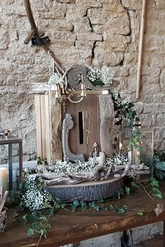 Cotswold Vintage Party Hire rents an extensive collection of quality props for weddings & parties with an optional professional design & styling service. Wedding Photo Booth, Wedding Photos, Wedding Ideas, Booth Table, Wedding Post Box, Party Hire, Vintage Party, Woodland Wedding, Ladder Decor