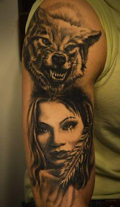 tattoo by Tomasz Machoń