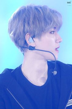 Baekhyun exo 's side profile is unreal