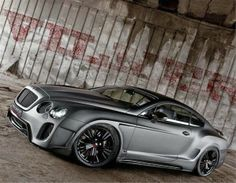 Bentley Continental GT- I actually really like this body kit...