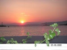İzmir Mordoğan'da gündoğumu