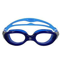 Barracuda Swim Goggle MIRAGE - Curved Lenses Anti-Fog UV Protection, One-piece Frame, Easy Adjustment Quick Fit, Comfortable No leaking for Adults Men Women #15420