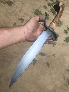 Types Of Knives, Knives And Tools, Knives And Swords, Forged Knife, Damascus Knife, Cuchillos Bowie, Knife Sheath, Cold Steel, Cool Knives