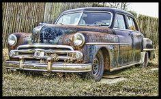 old car rusty forgotten