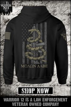 Gadsden Snake - Get yours now. Warrior 12 is a law enforcement veteran-owned company. Grunt Style Shirts, Cool Shirts For Men, Warriors Shirt, Tactical Clothing, Mens Fashion, Fashion Outfits, Field Jacket, Thing 1, Mens Clothing Styles