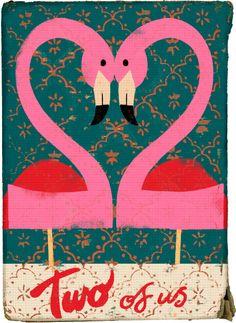 flamingo love!