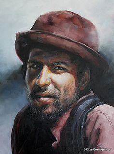 Elize Bezuidenhout - Artist | Examples of Recent Work South African Artists, Cape Town, Art Work, My Arts, Pastel, Faces, Portraits, Paintings, People