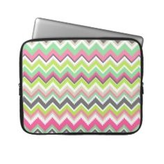 Aztec Andes Tribal Mountains Chevron Zig Zags Computer Sleeves  #SOLD on #Zazzle