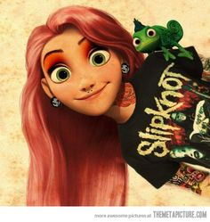 Modern Rapunzel... ♥