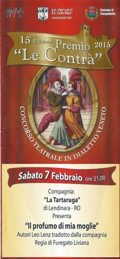 SANGUINETTO CHANNEL: Domani sera Sabato 7 Febbraio  3° app. PREMIO LE C...