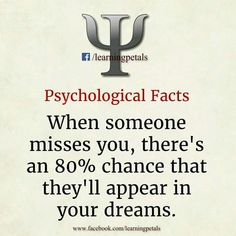 Really??? Bc had a dream last night w two ppl I haven't seen in a while