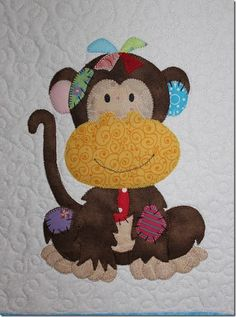 Jungle Patches Monkey