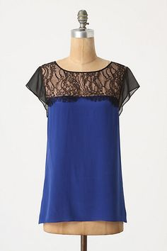 lace with color blocking (not for 200 dollars though...would be easy to make)