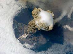 NASA - exploding vulcano on guatemala